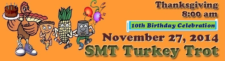 SMT Turkey Trot November 27, 2014