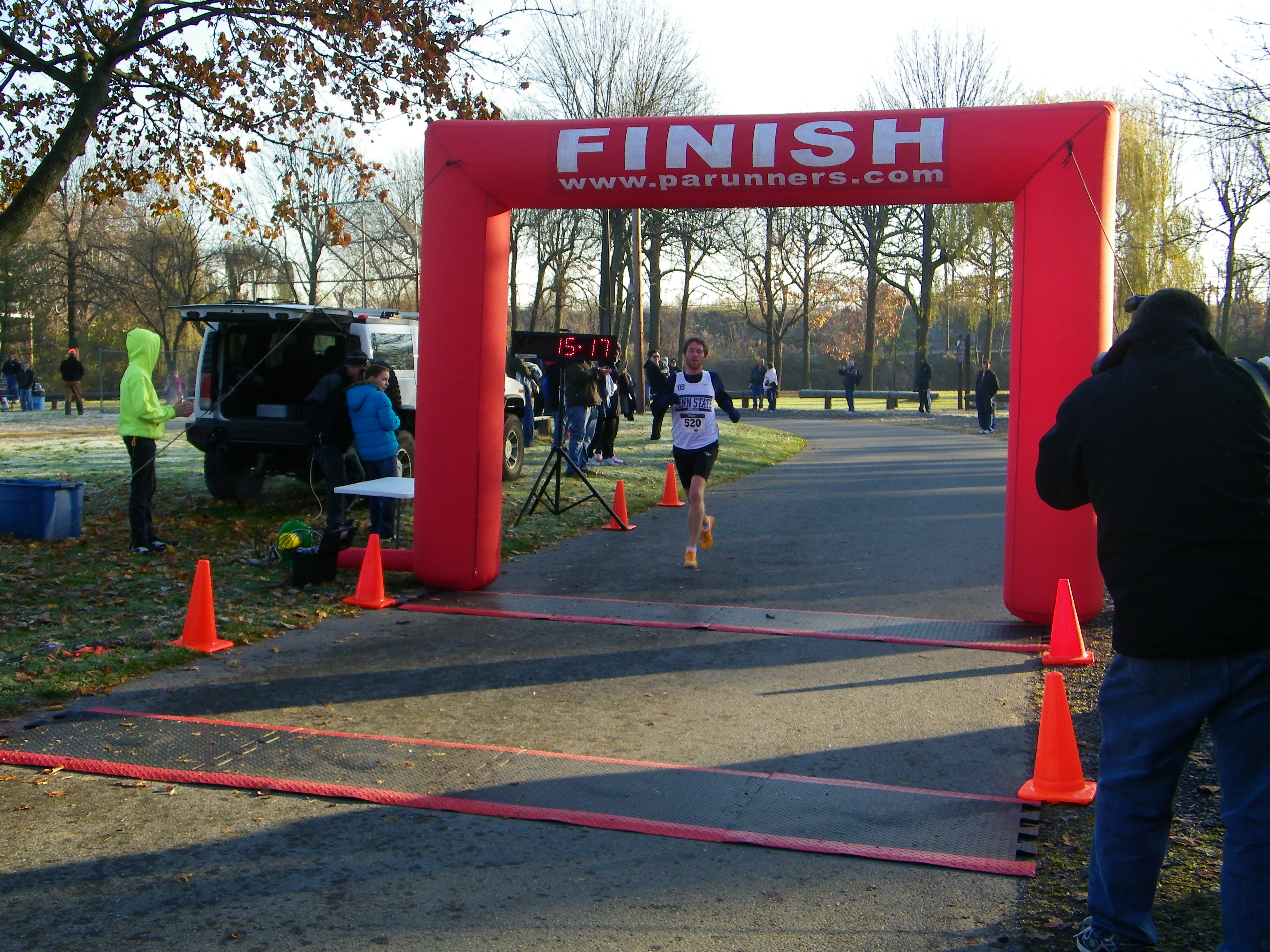 New Cumberland Turkey Trot winner